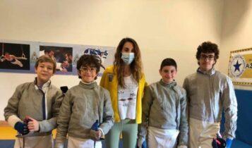 ΑΕΚ: Θετική η παρουσία στο Πανελλήνιο Παμπαίδων ξιφασκίας