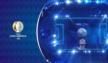 Copa America: Ανατριχίλα με το ολόγραμμα του Μαραντόνα πριν το Αργεντινή-Χιλή (VIDEO)