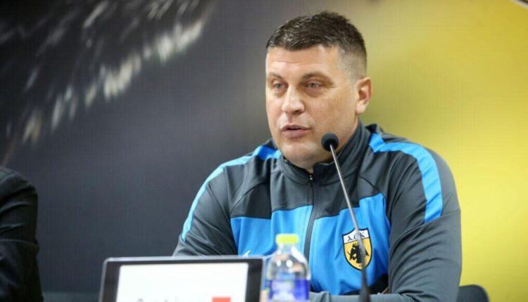 Μιλόγεβιτς: «Δεν φοβάμαι κανέναν, χρειαζόμαστε μεταγραφές-Αυτά μου είπε ο Μελισσανίδης» (VIDEO)