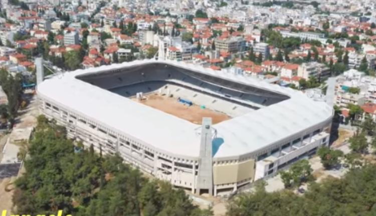 «Αγιά Σοφιά-OPAP Arena»: Μαγική βόλτα πάνω από το Ναό της ΑΕΚ! (VIDEO)
