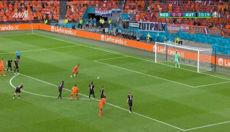EURO 2021: Με πέναλτι του Ντεπάι το 1-0 της Ολλανδίας (VIDEO)