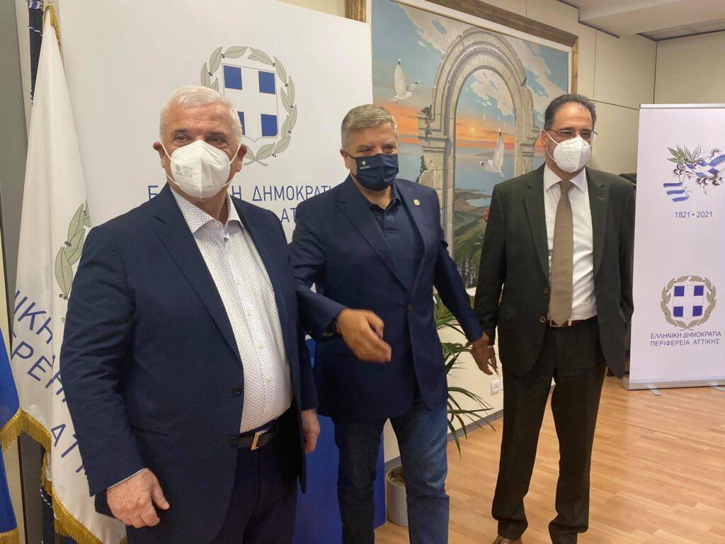 Εικόνες και VIDEO από τον Μελισσανίδη στην Περιφέρεια Αττικής