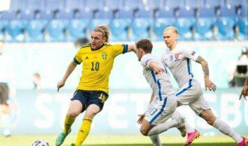 EURO 2021: Η Σουηδία κέρδισε 1-0 την Σλοβακία και πέρασε πρώτη (VIDEO)