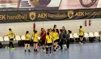 Αλεξίου: «Ιστορική μέρα για την ΑΕΚ- Δυναστεία και στο γυναικείο χάντμπολ»