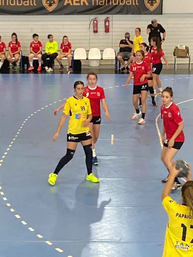Πατρώνη στο enwsi.gr: «Μακάρι να φτάσει και το γυναικείο χάντμπολ της ΑΕΚ να διεκδικεί τίτλους»