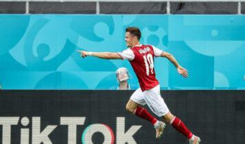 EURO 2021: Η Αυστρία κέρδισε 1-0 την Ουκρανία και προκρίθηκε (VIDEO)