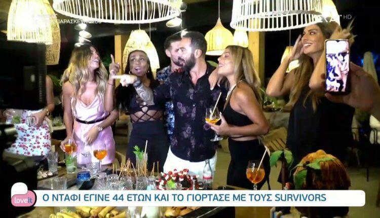 Ο Τριαντάφυλλος έγινε 44 και το γιόρτασε με τους Survivors (VIDEO)