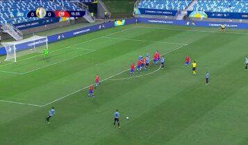 Copa America: Γκολ και φάσεις από το Ουρουγουάη-Χιλή 1-1 (VIDEO)