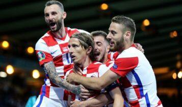 EURO 2021: Με μαγικό Μόντριτς οι Κροάτες προκρίθηκαν στους «16», 3-1 την Σκωτία (VIDEO)