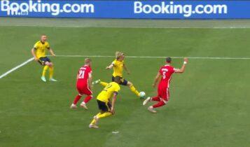 Σουηδία-Πολωνία: Εκανε το 1-0 πολύ νωρίς στο ματς ο Φόρσμπεργκ (VIDEO)