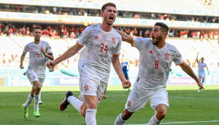 EURO 2021: Η Ισπανία ξέσπασε πάνω στη Σλοβακία, νίκησε με 5-0 (VIDEO)