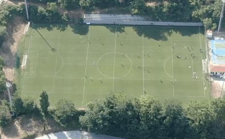 AEK: Η τελευταία προπόνηση στο Πήλιο από ψηλά (VIDEO)