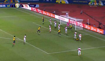 Copa America: Γκολ και φάσεις από το Εκουαδόρ – Περού 2-2 (VIDEO)