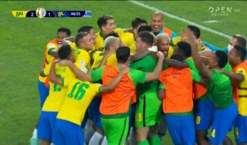 Copa America: Γκολ και φάσεις από το Βραζιλία – Κολομβία 2-1 (VIDEO)