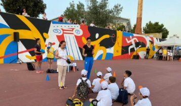 ΑΕΚ: Η Γκουντούρα βραβεύτηκε και παρουσίασε το άθλημα της ξιφασκίας σε δεκάδες παιδιά (ΦΩΤΟ)