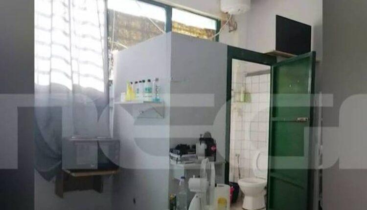 Γλυκά Νερά: Αυτό είναι το κελί του συζυγοκτόνου στον Κορυδαλλό (ΦΩΤΟ-VIDEO)