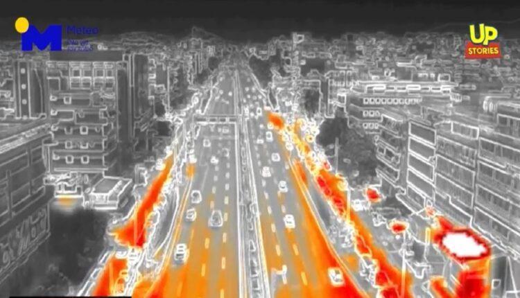 Πτήση με θερμική κάμερα πάνω από την Αθήνα εν μέσω καύσωνα (VIDEO)