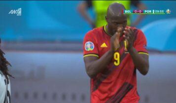 EURO 2021: Κακό τελείωμα από Αζάρ, χειροκροτά ο Λουκάκου (VIDEO)