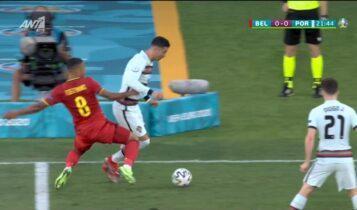 EURO 2021: Εκπληκτικό τάκλιν του Τίλεμανς στον Ρονάλντο (VIDEO)
