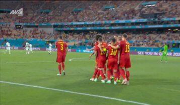 EURO 2021: Γκολάρα του Θοργκάν Αζάρ για το 1-0 του Βελγίου (VIDEO)