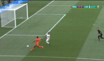 EURO 2021: Δημιουργεί προβλήματα από νωρίς στην Τσεχία ο Ντάμφρις (VIDEO)