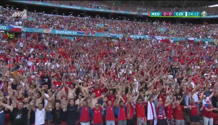 EURO 2021: Ασφυκτικά γεμάτη η «Πούσκας Αρένα» για το Ολλανδία-Τσεχία (VIDEO)