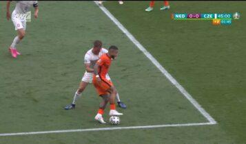 EURO 2021: Ο Ντεπάι χάζεψε και τον... βοηθό (VIDEO)