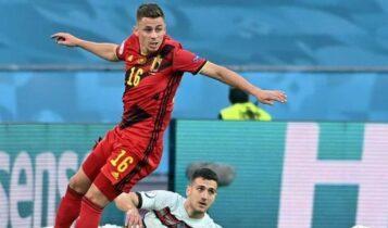 EURO 2021: Μεγάλη πρόκριση για το Βέλγιο (1-0) επί της Πορτογαλίας (VIDEO)