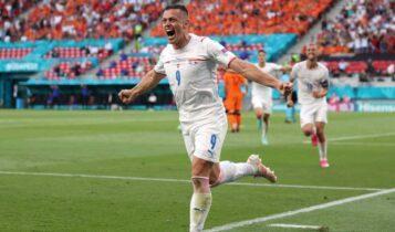 EURO 2021: Τρομερή Τσεχία, πέταξε έξω (2-0) την Ολλανδία (VIDEO)