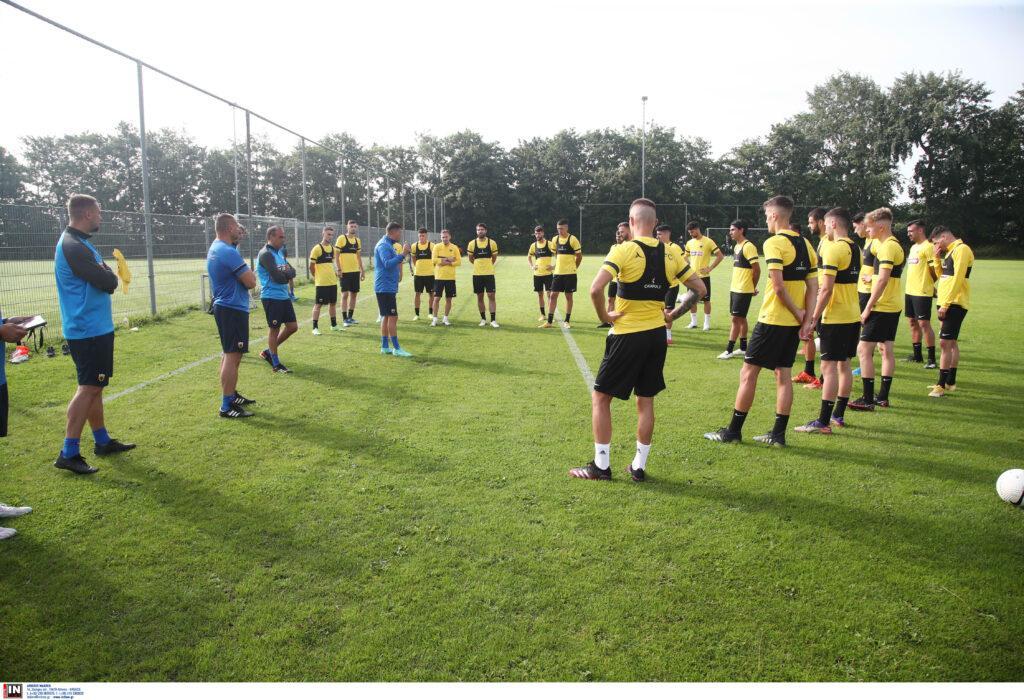 Εικόνες από την προετοιμασία της ΑΕΚ στην Ολλανδία: 1η ημέρα
