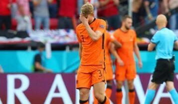 EURO 2021 - Ντε Λιχτ: «Η αποβολή μου έκανε τη διαφορά»