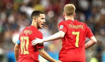 EURO 2021 - Βέλγιο: Αγωνία για Αζάρ-Ντε Μπρούινε ενόψει Ιταλίας