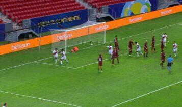 Copa America: Γκολ και φάσεις από το Βενεζουέλα-Περού: 0-1 (VIDEO)