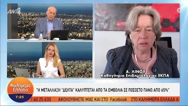 Μετάλλαξη Δέλτα – Λινού: «Βιώνουμε κάτι που μοιάζει με νέα πανδημία» (VIDEO)