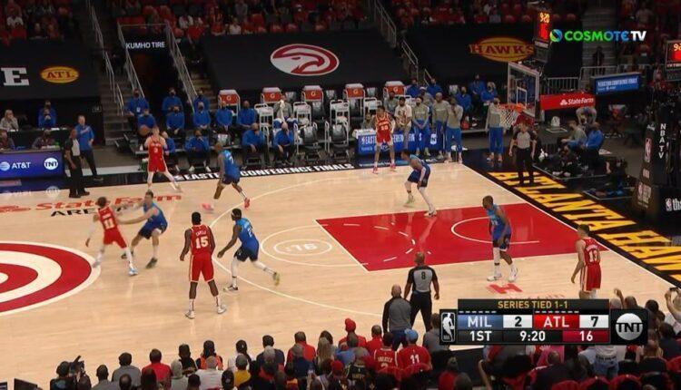 NBA: Με εντυπωσιακούς Γιάννη και Μίντλετον έκαναν το 2-1 στη σειρά οι Μπακς (VIDEO)