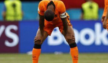 EURO 2021 - Βαινάλντουμ: «Δική μας ευθύνη ο αποκλεισμός, τώρα πάμε... διακοπές»