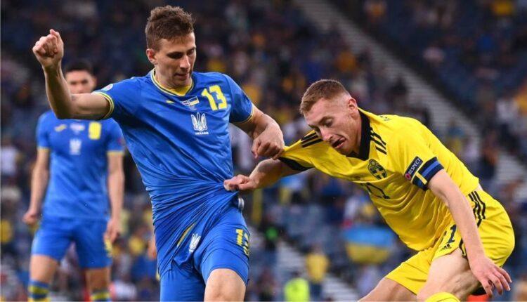 EURO 2021: Τρομερή πρόκριση στο 120' για την Ουκρανία (2-1) επί της Σουηδίας! (VIDEO)