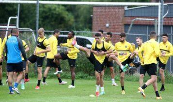 Εικόνες από την απογευματινή προπόνηση της ΑΕΚ στην Ολλανδία: 2η ημέρα