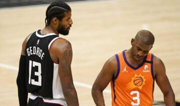 NBA: Δεν το βάζουν κάτω οι Κλίπερς, 102-116 με ηγετικό Πολ Τζορτζ