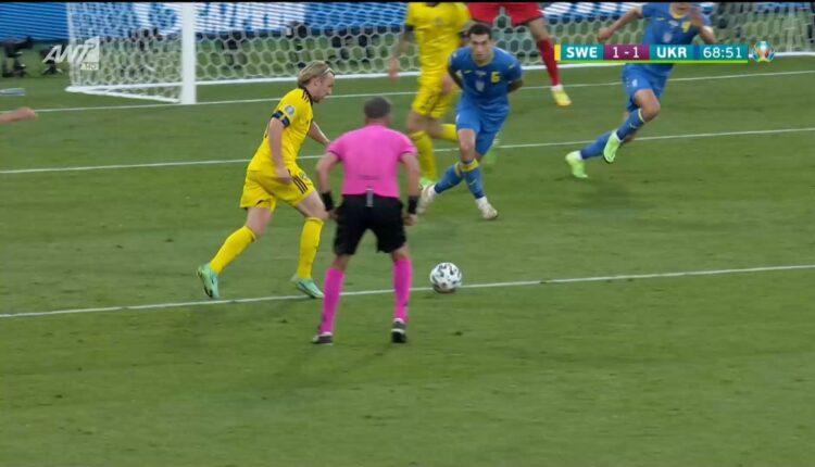 EURO 2021: Ξανά στο δοκάρι η νέα σουτάρα του Φόρσμπεργκ (VIDEO)