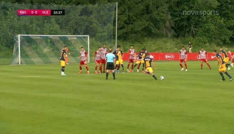 Σάλτσμπουργκ-Ολυμπιακός: 1-0 με Γιουνούζοβιτς (VIDEO)