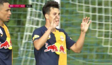 Σάλτσμπουργκ-Ολυμπιακός: 2-0 με σουτ του Καπάλντο (VIDEO)