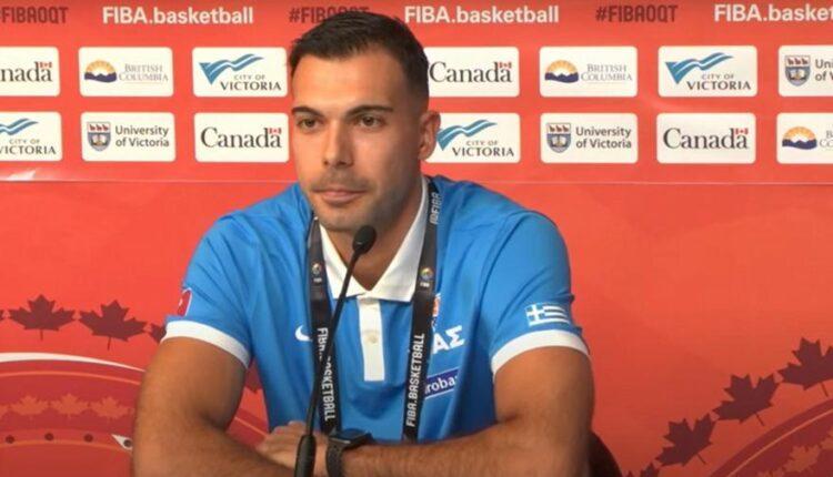 Εθνική Ελλάδος - Σλούκας: «Ξέρουμε ότι έχουμε πολλές δυσκολίες αλλά θα παλέψουμε»