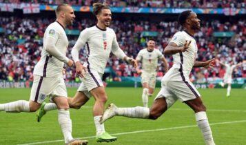 EURO 2021: Η ανακούφιση του Στέρλινγκ όταν είδε τον Μίλερ να αστοχεί (VIDEO)