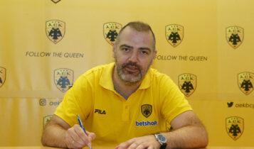 Στο ΟΑΚΑ ο Δέδας, υπέγραψε με την ΑΕΚ! (ΦΩΤΟ)