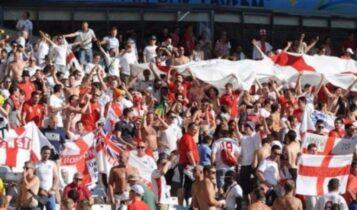 EURO 2021: Απαγορεύεται από την ιταλική κυβέρνηση οι Άγγλοι οπαδοί να ταξιδέψουν στην Ιταλία