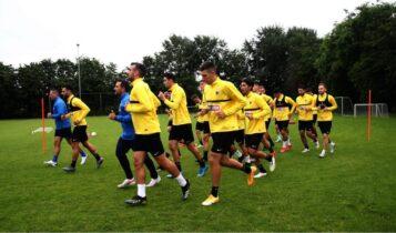 Εικόνες από την προετοιμασία της ΑΕΚ στην Ολλανδία: 5η ημέρα