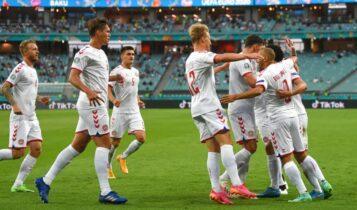 EURO 2021: Νίκησε την Τσεχία (1-2) και βλέπει τελικό η Δανία (VIDEO)