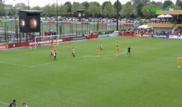 Φέγενορντ-ΑΕΚ: «Κόλλησαν» τα στόπερ, ισοφάρισαν 1-1 οι Ολλανδοί (VIDEO)