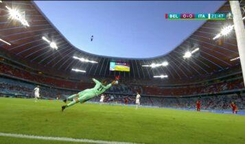 EURO 2021: Ο Κιελίνι αποθέωσε τον Ντε Μπρόινε για το απίστευτο σουτ που έκανε